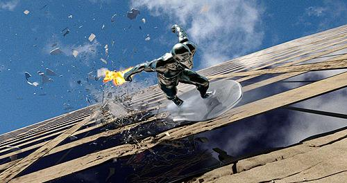 Fantastic Four: Rise of the Silver Surfer on Blu-ray