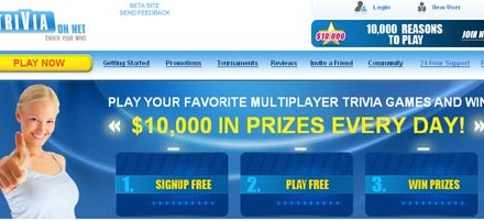 Win Money Answering Trivia Questions