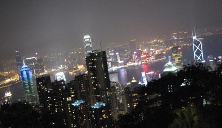 A View On Top of Hong Kong