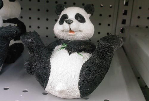 Dollar Store Panda Flashes John Chow