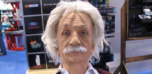 Albert Einstein Totally Creeps Me Out