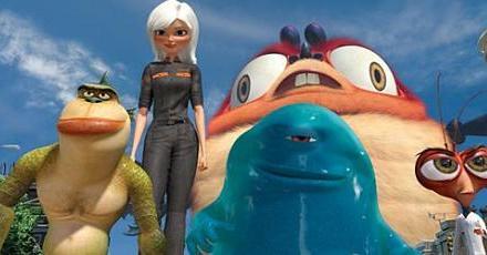 Monsters vs. Aliens and Ponyo Movie Reviews