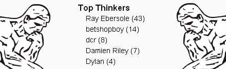 Top Thinkers of March 2009