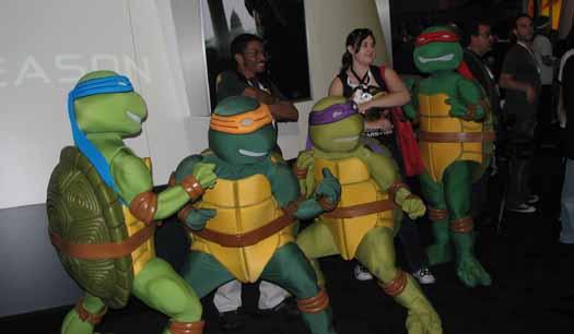 TMNT Teenage Mutant Ninja Turtles (E3 Expo 2009)