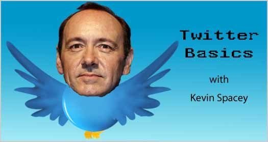Twitter Basics with Kevin Spacey