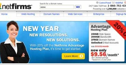Web Hosting and Domains with Netfirms.ca