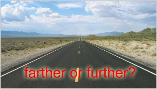 Grammar 101: Farther or Further