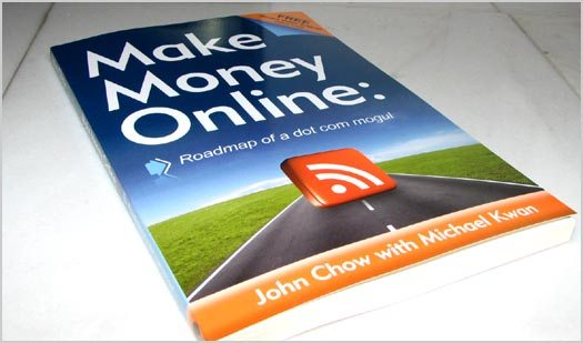 Signed Copies of Make Money Online Book
