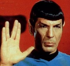 Song Lyrics As Re-Interpreted by Spock