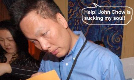 Proof that John Chow is the root of all evil