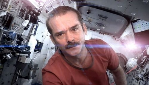 Sunday Snippet: Commander Chris Hadfield