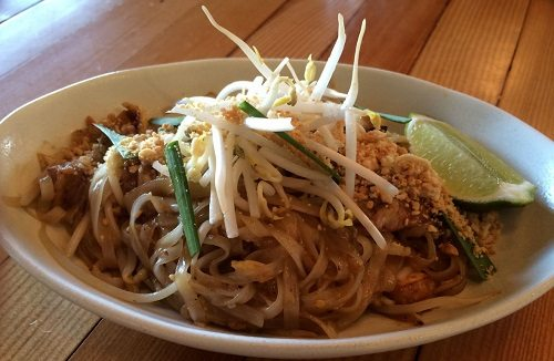 Pad Thai at Longtail Kitchen, by Stacey Robinsmith