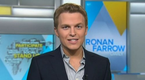 Sunday Snippet: Ronan Farrow