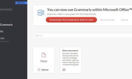 Grammarly Instantly Proofreads Your Work