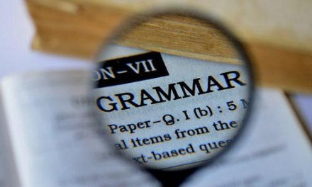 Grammar 101: Chomping at the Bit