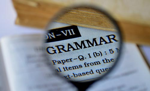 Grammar 101: On Pinchers and Pincer Grips