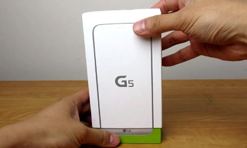 LG G5 Unboxing Video