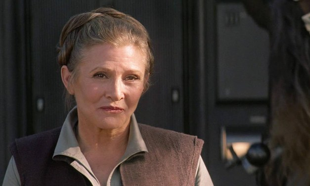 Sunday Snippet: Carrie Fisher (1956-2016)