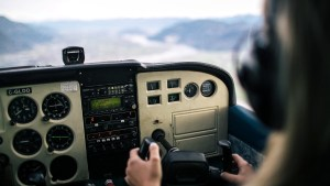 Flying without autopilot