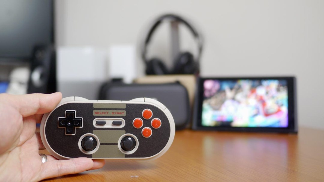 8Bitdo N30 Pro on Nintendo Switch