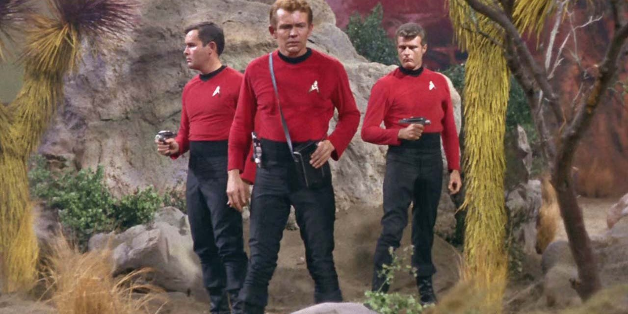 What's Up Wednesdays: Alien Landscapes and Red Shirts