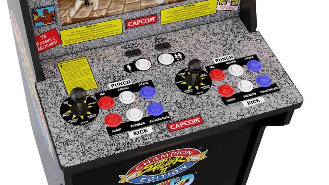 Arcade1Up Street Fighter II Machine