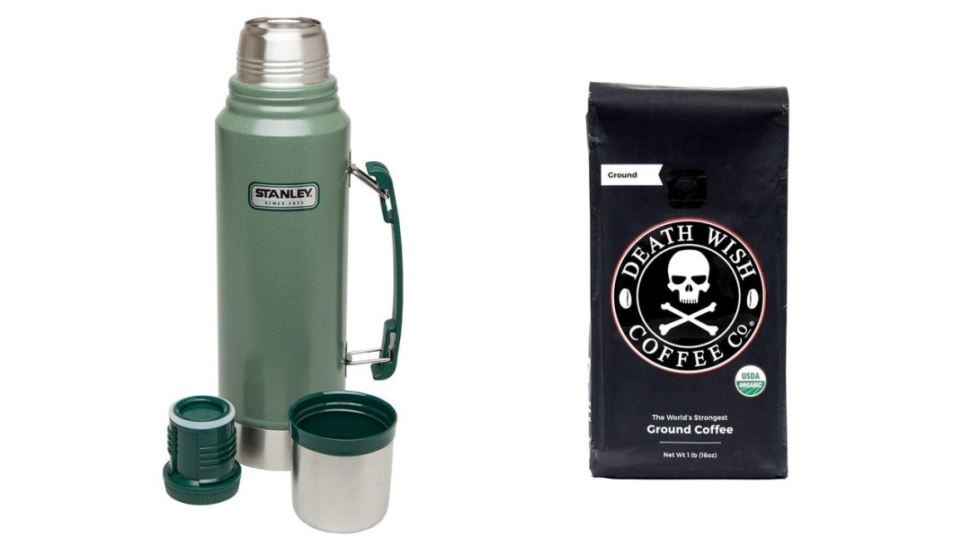 Stanley Classic Vacuum Bottle and Death Wish Coffee