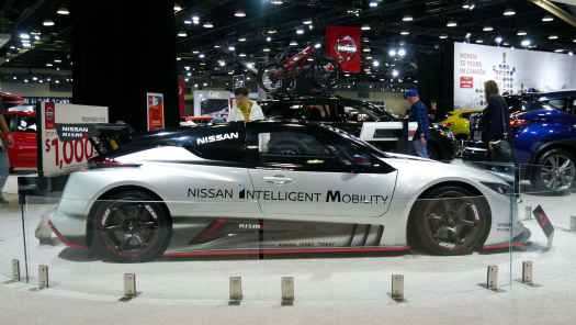 Nismo Leaf at Vancouver International Auto Show 2019