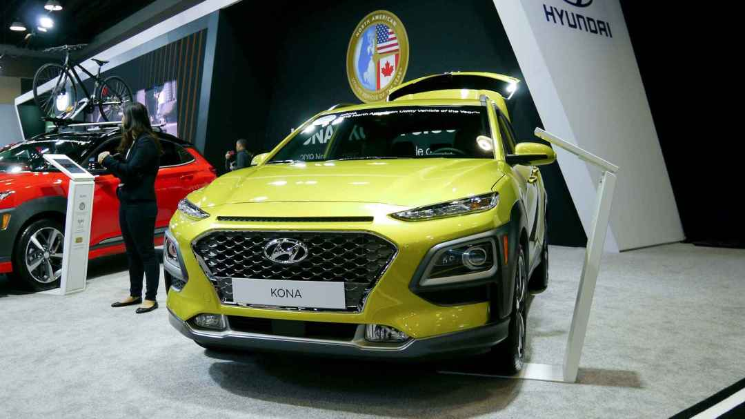 Hyundai Kona at Vancouver International Auto Show 2019