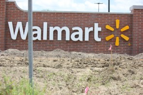 Walmart sign at Burbank and Bluebonnnet