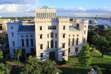 Louisiana's Old State Capital from Tsunami, 100 Lafayette St