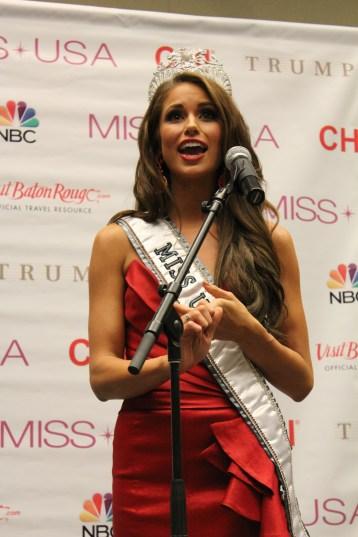 Miss USA 2014 - Nia Sanchez - Baton Rouge - 1st Press Conference - BTR360.COM - Kevin Woolsey Photo (8)