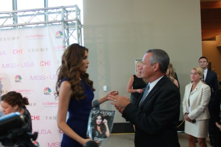 Miss USA Donald J Trump CHI Celebrity Red Carpet Visit Baton Rouge 360 Miss Universe Organization MUO Photo Kevin Woolsey (261)