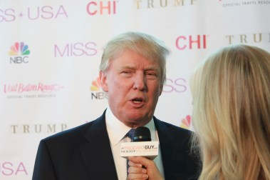 Miss USA Donald J Trump CHI Celebrity Red Carpet Visit Baton Rouge 360 Miss Universe Organization MUO Photo Kevin Woolsey (415)