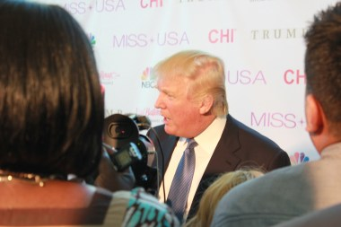 Miss USA Donald J Trump CHI Celebrity Red Carpet Visit Baton Rouge 360 Miss Universe Organization MUO Photo Kevin Woolsey (435)