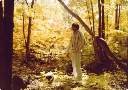 I guess Danny and I went off in the woods and took pictures. About 1978, I think.