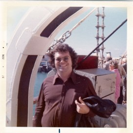 Mid-70s, traveling between Algeciras, Spain and Tangiers, Morocco