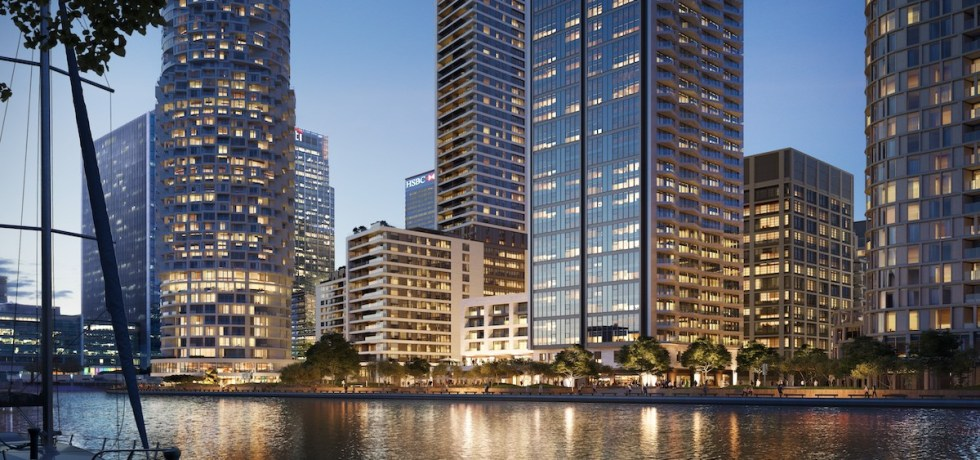 10 George Street BTR development - Canary Wharf Group