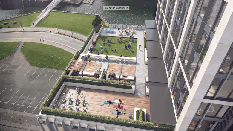 The Lexington, Liverpool outdoor spaces - BTR News