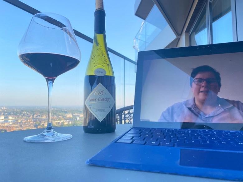 Vertus-Humble Grape Virtual Wine Tasting (resident's view)