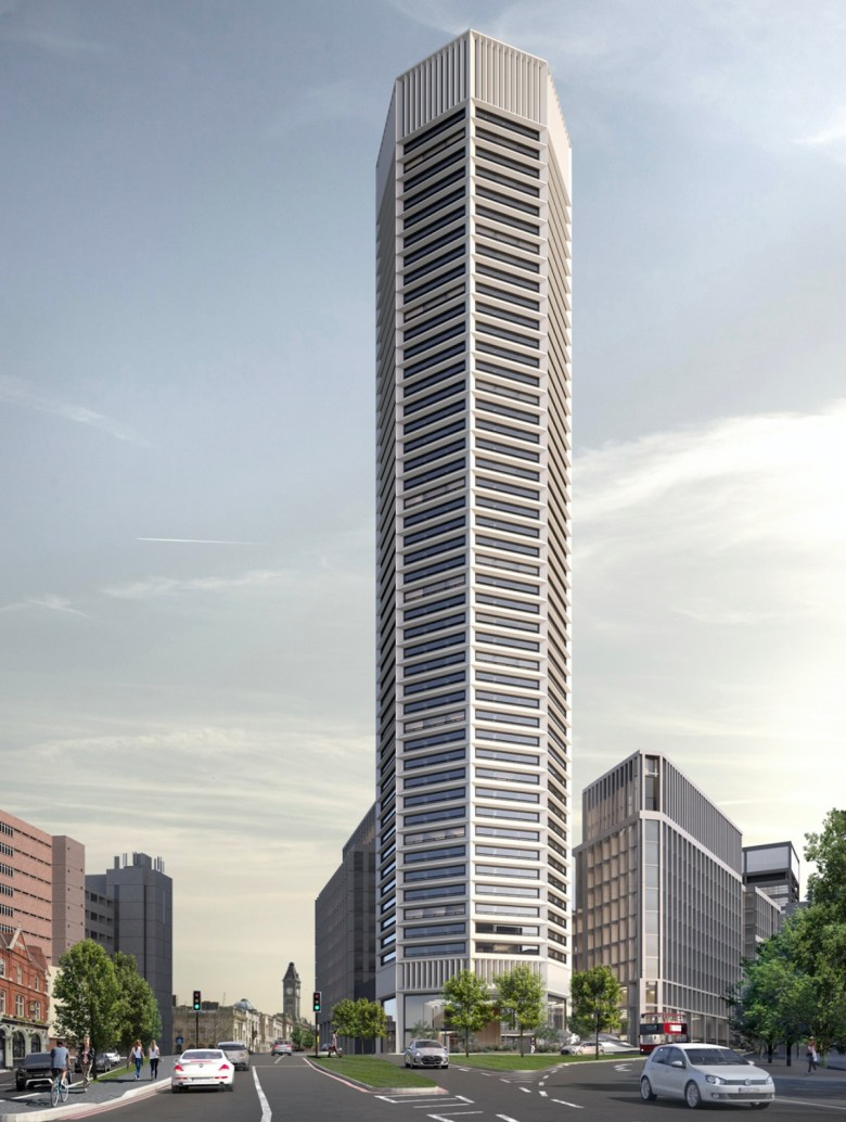 Octagon Build to Rent Tower - Paradise Birmingham