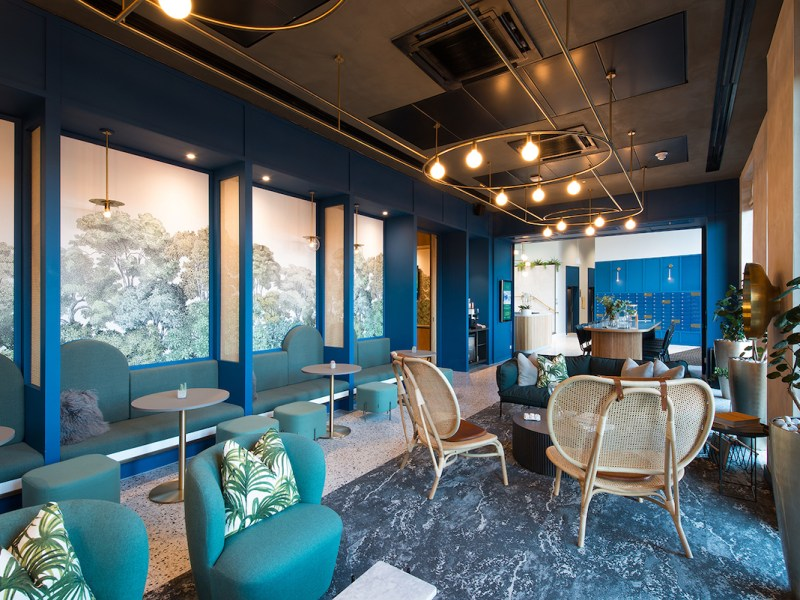Communal area at the Duet Build to Rent scheme, MediaCityUK