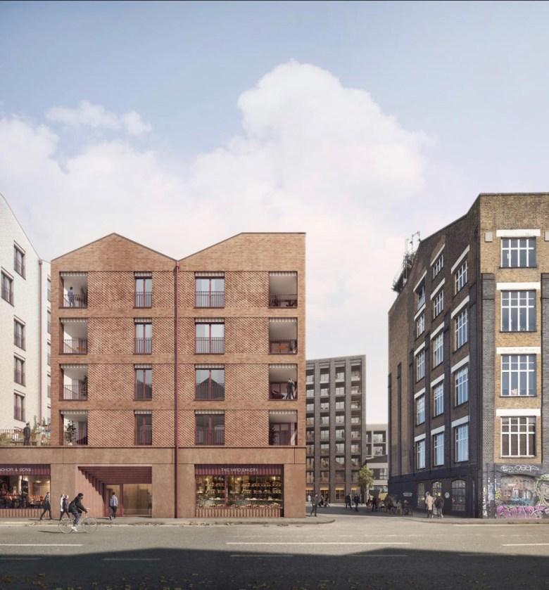 Build to Rent scheme exterior of building