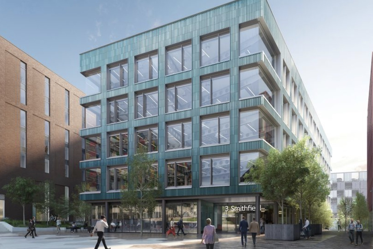 Clayworks Build to Rent scheme, Smithfields site