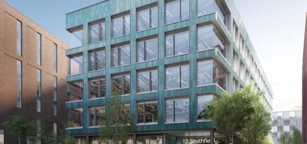 Clayworks Build to Rent scheme, Smithfields site