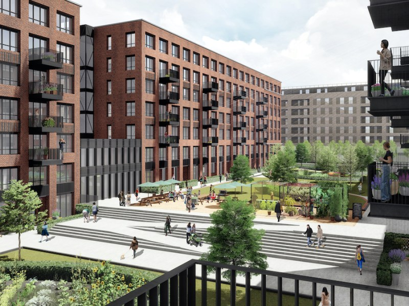 Parabola's Build to Rent scheme at Edinburgh Park
