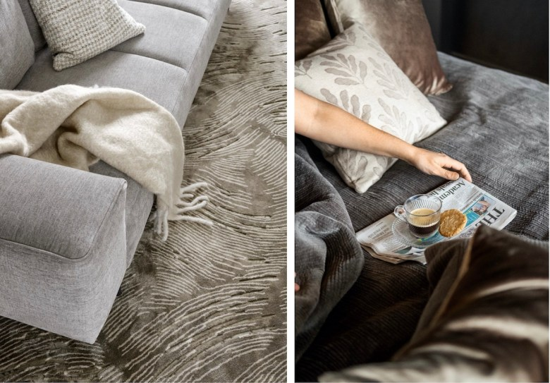 Styling for Sanctuary soft plush fabric furniture - BoConcept | BTR News