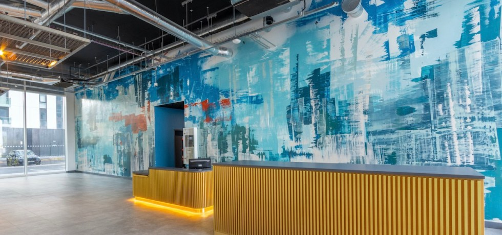 UK's largest fresco installed at The Green Rooms by Aster Muro | BTR News