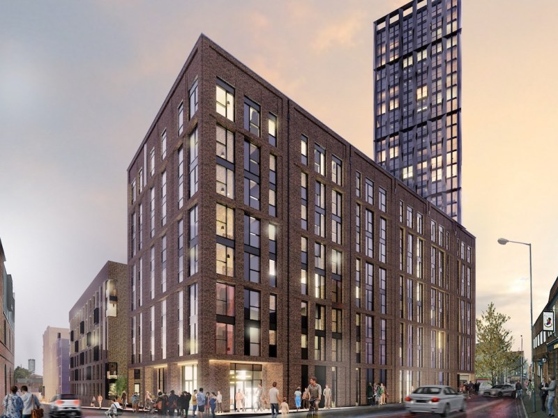 Exterior of the Stone Yard Build to Rent scheme - Court Collaboration | BTR News