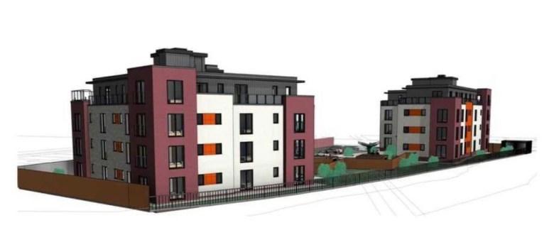 CGIs of the Baseworks BTR scheme, Cardiff - PropertyIndex | BTR News